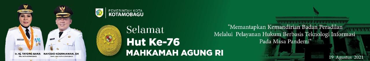 iklan Pemerintah Kota KOtamobagu